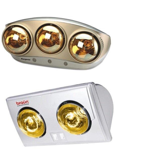 Nên chọn đèn sưởi Kangaroo KG250 hay đèn sưởi Braun BU02G?