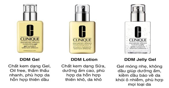 Nên chọn kem dưỡng ẩm Clinique loại nào tốt cho da bạn?