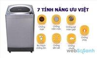 Nên chọn máy giặt giá 5 triệu Sharp ES-U95HV-S hay Toshiba AW8970SV ?