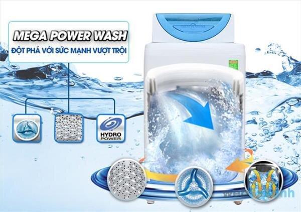 Nên chọn máy giặt giá 5 triệu Panasonic hay Toshiba ?