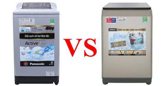 Nên chọn máy giặt giá 5 triệu Sanyo hay Panasonic ?