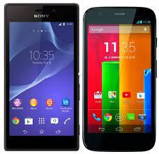 Nên chọn smartphone tầm trung Moto G hay Sony Xperia T3?