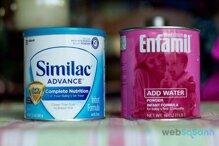 Nên chọn thương hiệu sữa công thức nào cho bé – Similac hay Enfamil?