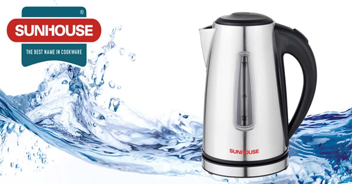 Nên mua bình đun nước siêu tốc bao nhiêu lít thì phù hợp?