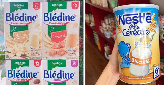 Nên mua bột lắc sữa Bledina hay bột lắc sữa Nestle ?