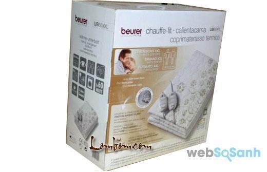 Nên mua chăn điện Beurer UB-66 (UB66XXL) hay không ?