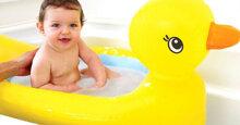Nên mua chậu tắm cho trẻ sơ sinh của thương hiệu nào?