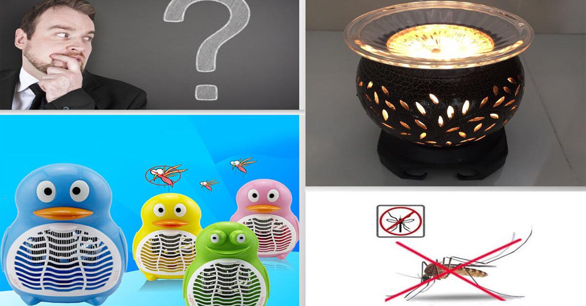 Nên mua đèn ngủ xông tinh dầu hay đèn ngủ diệt muỗi ?