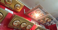 Nên mua đèn sưởi nhà tắm âm trần hay treo tường ?