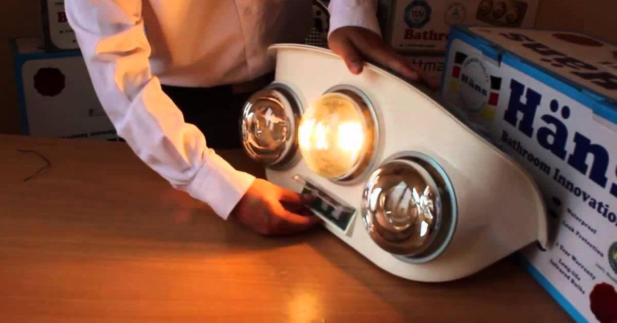 Nên mua đèn sưởi nhà tắm Hans hay Braun ?