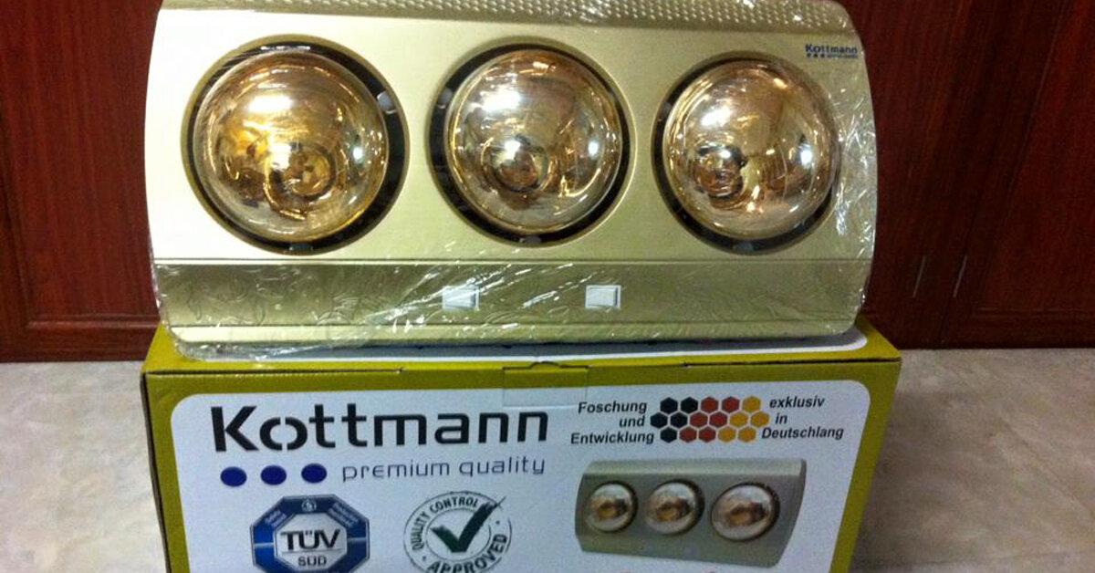 Nên mua đèn sưởi nhà tắm Kottmann hay Heizen ?