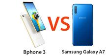 Nên mua điện thoại Bphone 3 hay thêm 700,000 VNĐ mua Samsung Galaxy A7 2018 ?