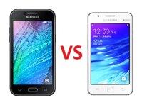 Nên mua điện thoại Samsung Galaxy J1 hay Samsung Z1