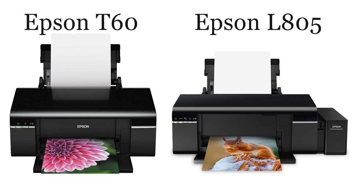 Nên mua máy in màu Epson L805 hay T60?