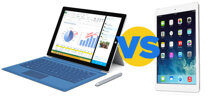 Nên mua Microsoft Surface Pro 3 hay iPad Air trong dịp Tết 2015
