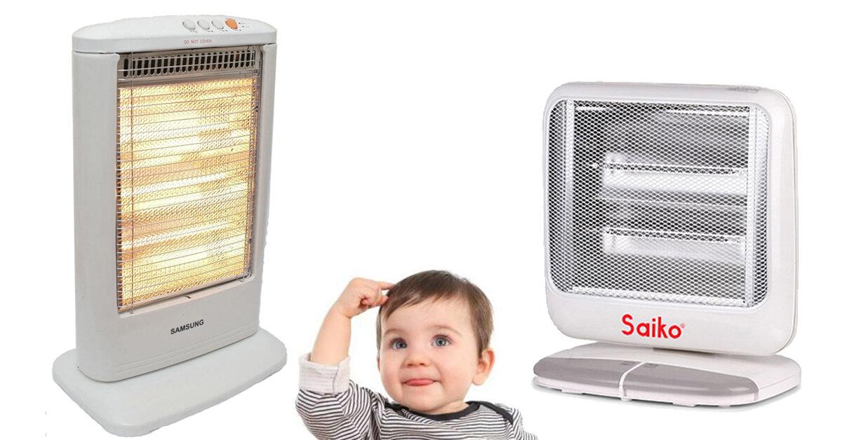Nên mua quạt sưởi Samsung hay Saiko cho bé ?
