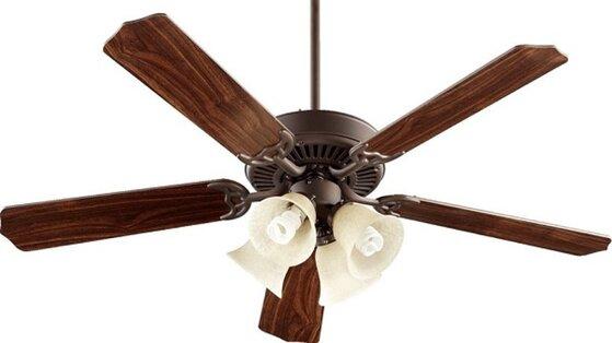 Nên mua quạt trần mấy cánh sẽ mát hơn, tiết kiệm điện hơn