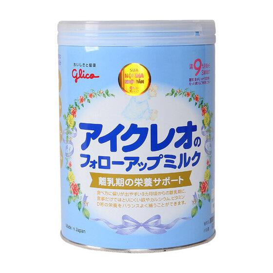 Nên mua sữa bột Glico Icreo nhập khẩu hay xách tay ?