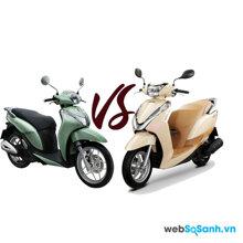 Nên mua xe máy Honda SH Mode hay Honda Lead ?
