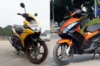 Nên mua xe máy Yamaha hay Honda?
