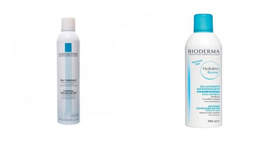 Nên mua xịt khoáng Bioderma hay La Roche-Posay để giúp làm dịu da?