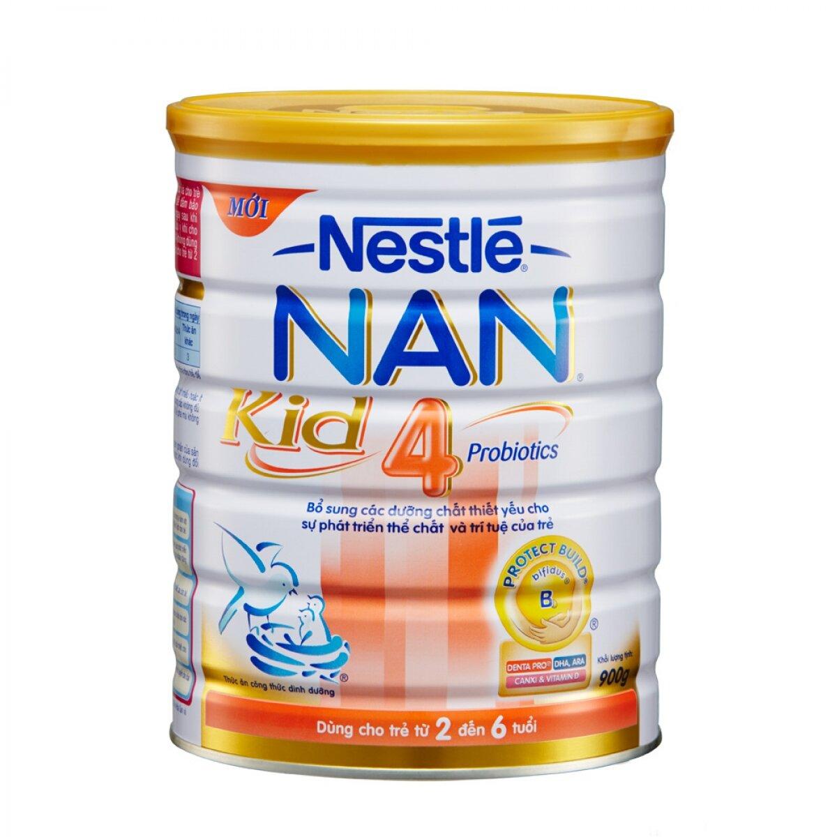 Nestlé NAN Kid 4 – Hỗ trợ miễn dịch cho trẻ từ 2 đến 6 tuổi