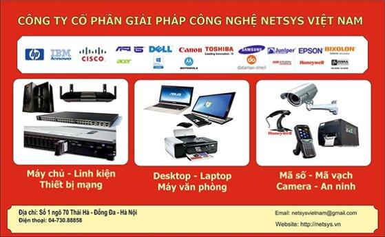 NETSYS VIỆT NAM – cung cấp hệ thống thiết bị mạng và giải pháp công nghệ toàn diện