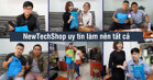 NewTechShop – Giải pháp cho các tín đồ công nghệ tại Việt Nam