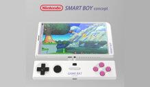 Ngắm concept smartphone lai Gameboy độc đáo của Nintendo