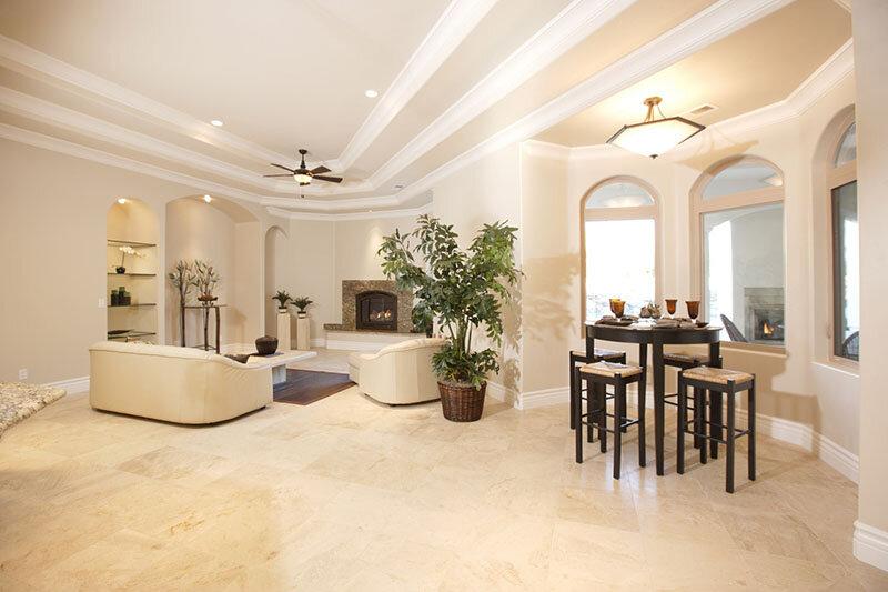 Ngắm những mẫu quạt trần trang trí cho phòng khách đẹp mê hồn
