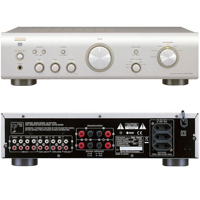 Nghe nhạc cực hay với Amply (Amplifier) Denon PMA 720 AE