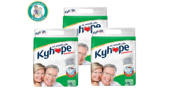 Nguồn gốc xuất xứ tã quần cho người lớn Kyhope là của nước nào ?