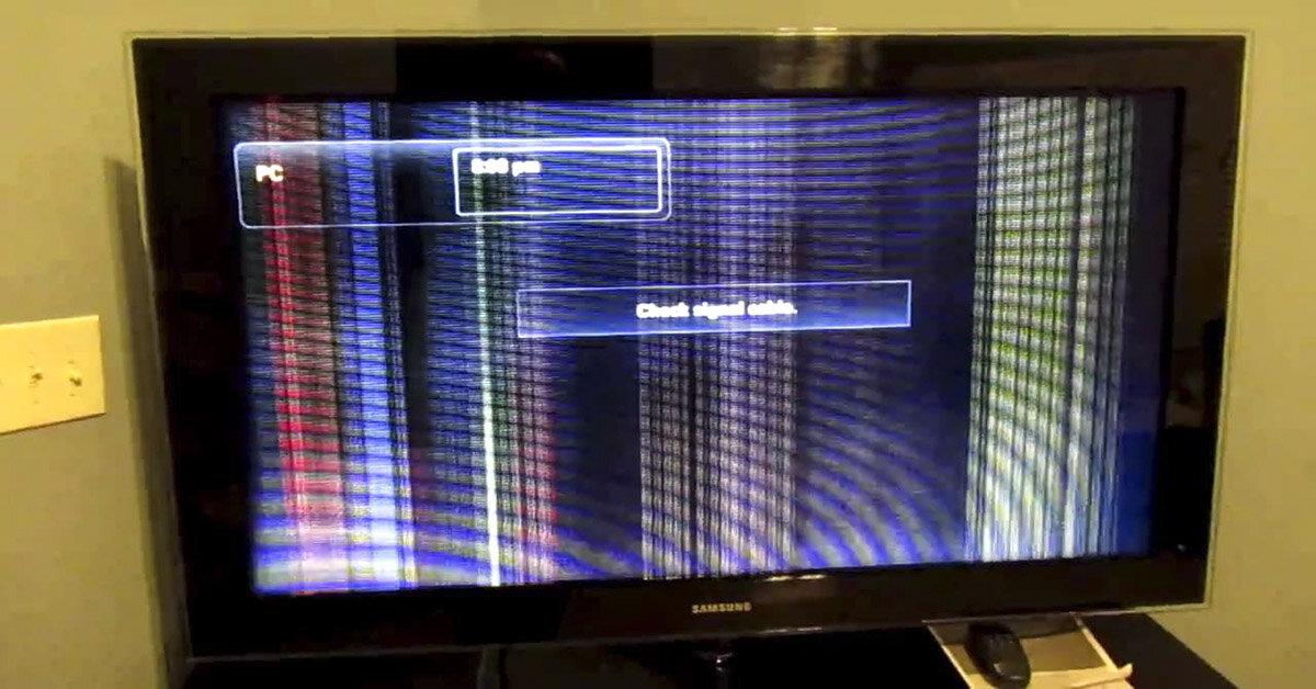 Nguyên nhân và cách khắc phục sự cố màn hình tivi bị kẻ dọc