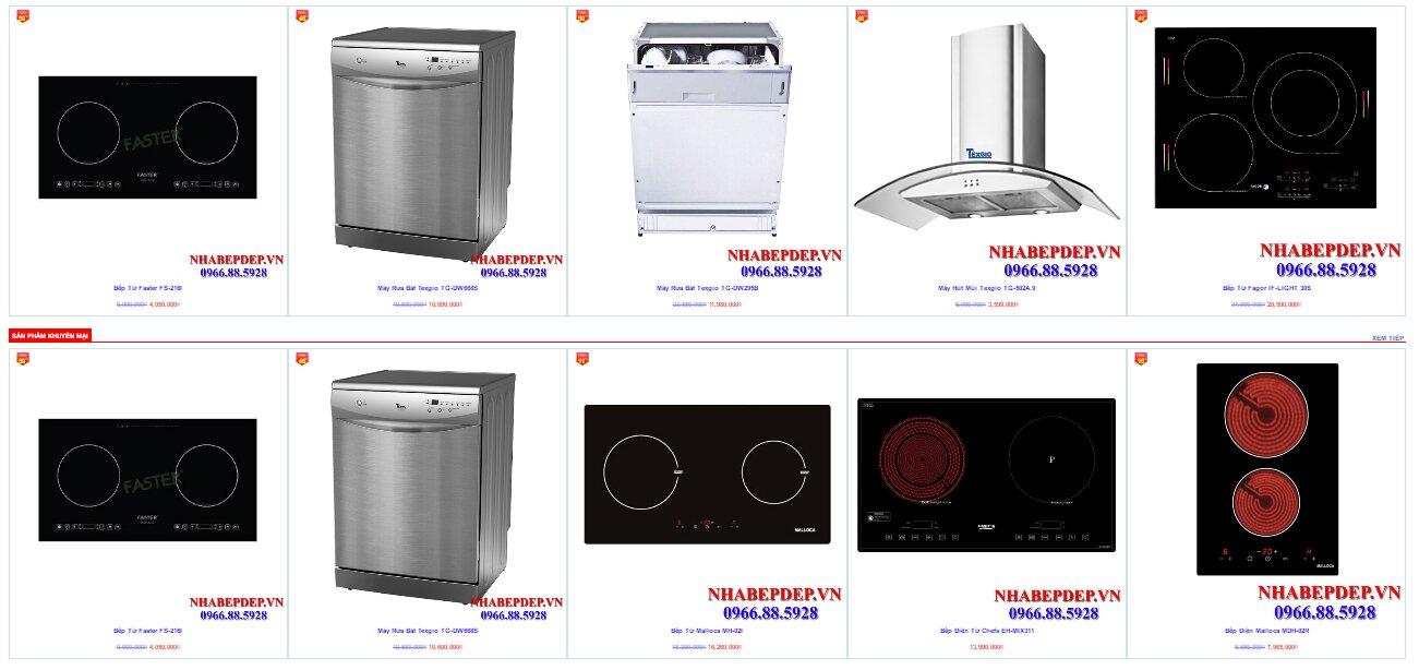 NHÀ BẾP ĐẸP – Mua hàng nhà bếp chất lượng giá cả hợp lý