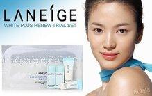 Nhận ngay quà tặng phiếu massage khi mua bộ dưỡng trắng da Laneige White Plus Renew