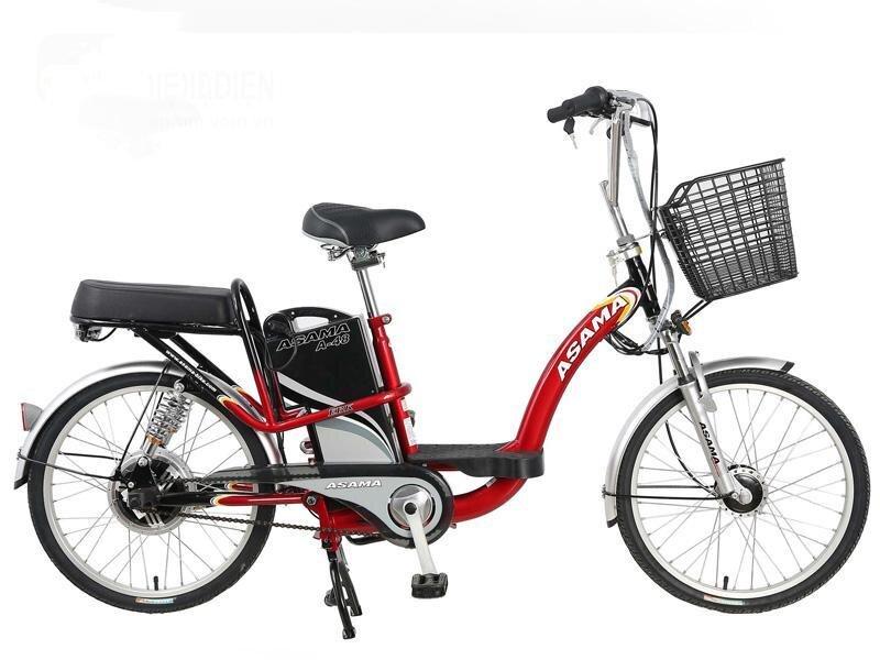 Xe đạp điện Asama – lựa chọn hoàn hảo cho phái đẹp