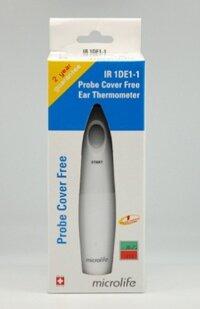 Nhiệt kế đo tai Microlife IR1DE1: Công nghệ cảm ứng nhiệt thông minh