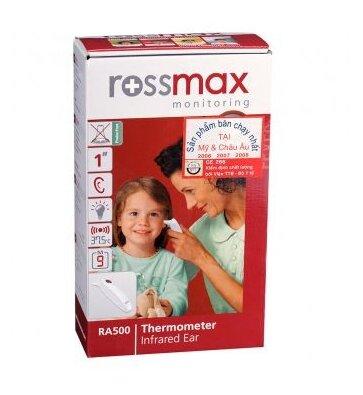 Nhiệt kế đo tai Rossmax RA500 cùng bạn chăm sóc bé