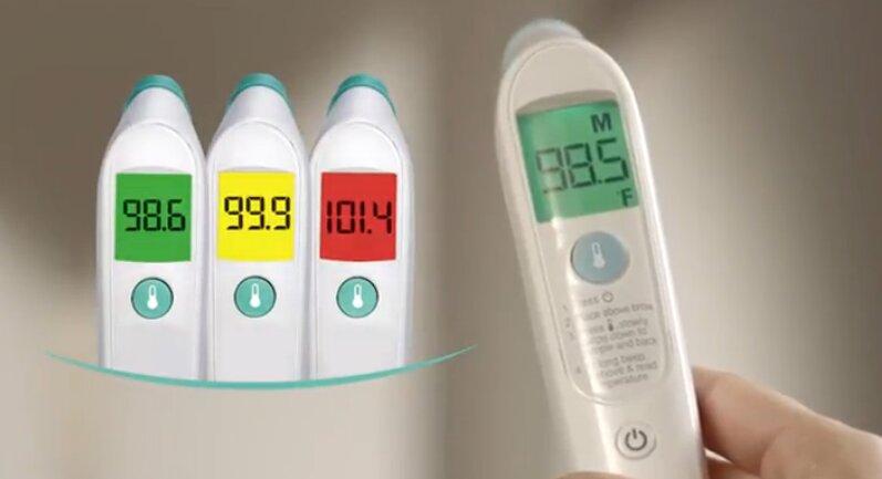 Nhiệt kế đo trán Braun FHT 1000US đo nhiệt không cần chạm