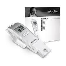 Nhiệt kế hồng ngoại đo trán Microlife FR1DL1 kiểm tra thân nhiệt an toàn, độ chính xác cao.