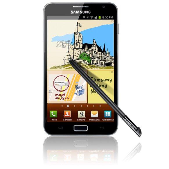 Nhìn lại điện thoại Samsung Galaxy Note 1