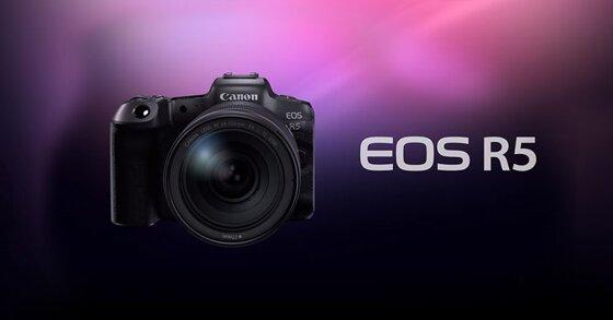 Những ấn tượng đầu tiên về chiếc máy ảnh Canon EOS R5