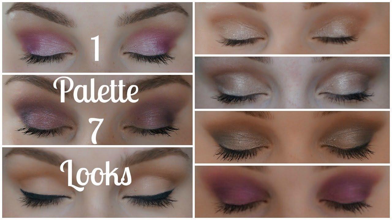 Những bảng màu mắt được yêu thích nhất của I-Divine Eyeshadow Palette