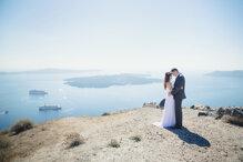 Những bức ảnh cưới nghệ thuật trên eo biển