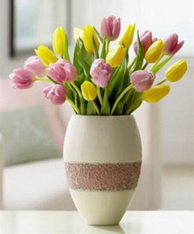 Những cách cắm hoa tulip đẹp mà đơn giản