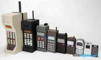 Những chiếc điện thoại đầu tiên của các ông lớn di động