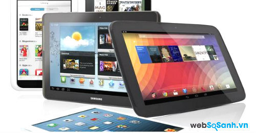 Những chiếc máy tính bảng màn hình nhỏ dành cho doanh nhân ( Phần II)