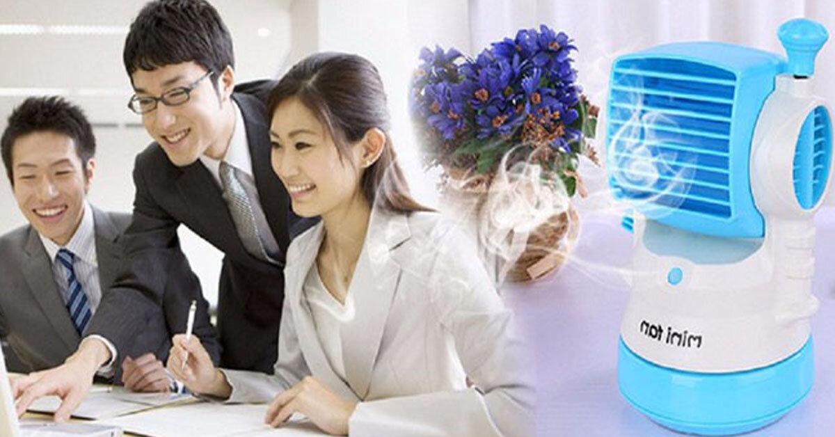 Những chiếc quạt điều hòa mini giá rẻ thích hợp cho dân văn phòng