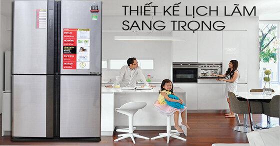 Những chiếc tủ lạnh Sharp tốt nhất hiện nay