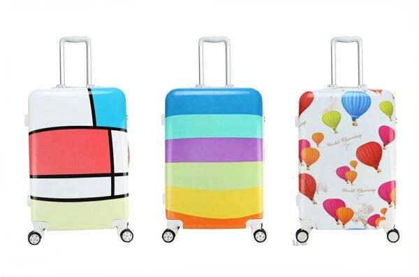 Những chiếc vali nhựa cute xinh đẹp dành cho các bạn trẻ yêu thích du lịch